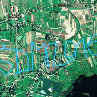 ŚDM-owa droga z lotu ptaka :)
